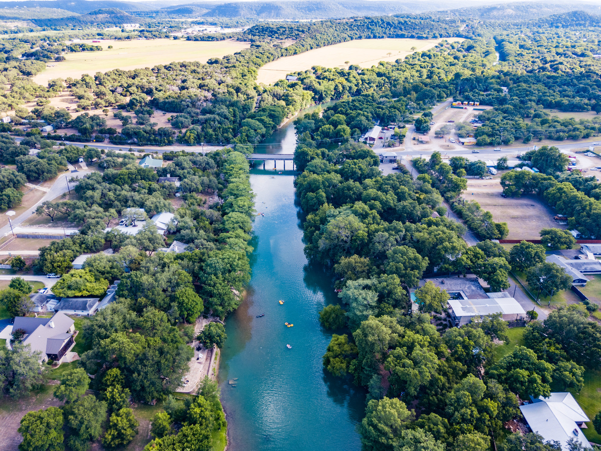 New Braunfels, Texas and the Guadalupe River